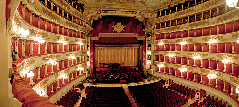 Theatre La Scala in Milan